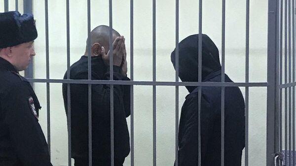 Обвиняемые в убийстве Ксении Каторгиной в суде