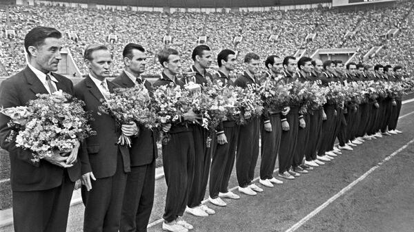 Сборная команда СССР по футболу,  выигравшая Кубок Европы в 1960 году