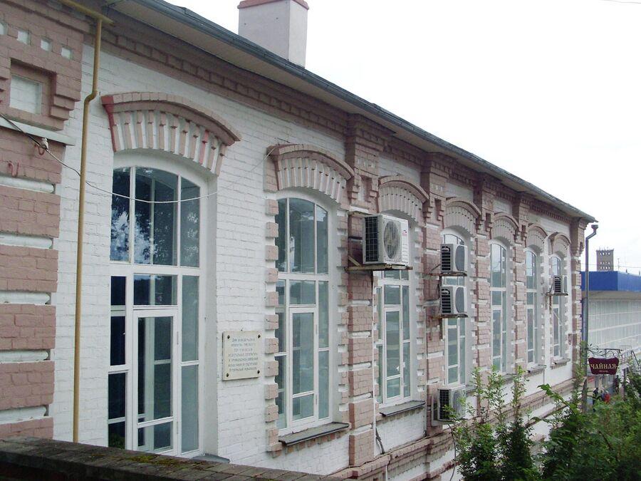 Дом бывшей чайной