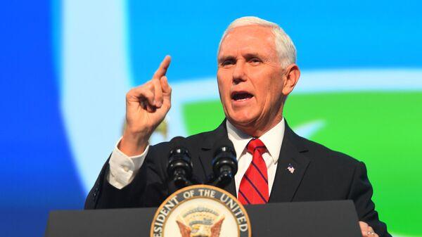 Пенс приветствовал решение группы сенаторов оспорить итоги выборов