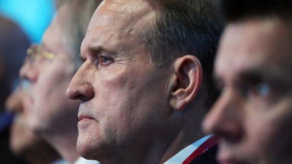 Медведчук: силовой возврат Донбасса— это самоубийство