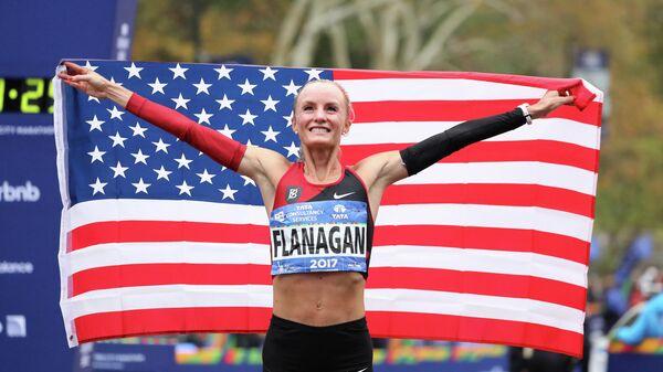 Легкоатлетка Шалан Флэнаган (США)