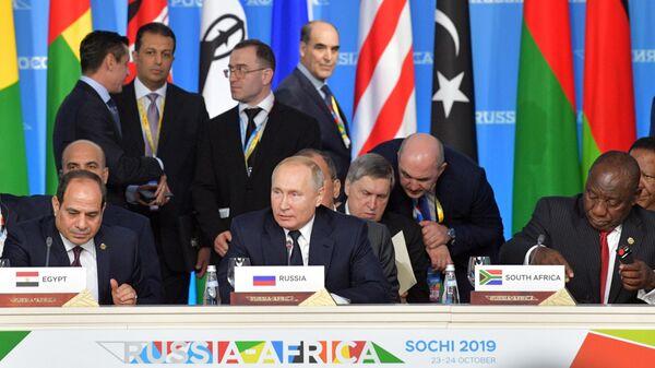 """Путин оценил саммит """"Россия – Африка"""" как деловую и дружескую встречу"""