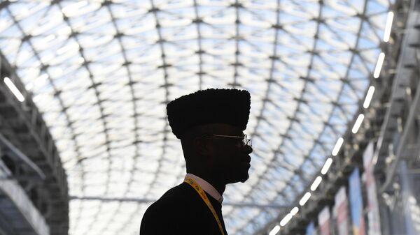 Участник экономического форума Россия - Африка в Сочи
