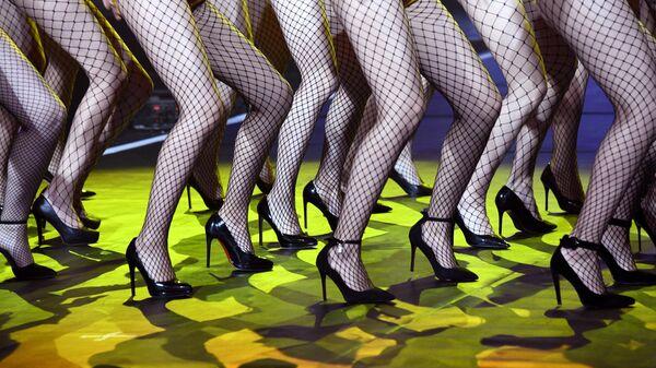 Ноги участниц конкурса