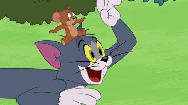 Кадр из мультсериала Том и Джерри
