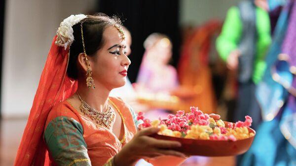 Традиционные блюда на праздновании Дивали в Москве