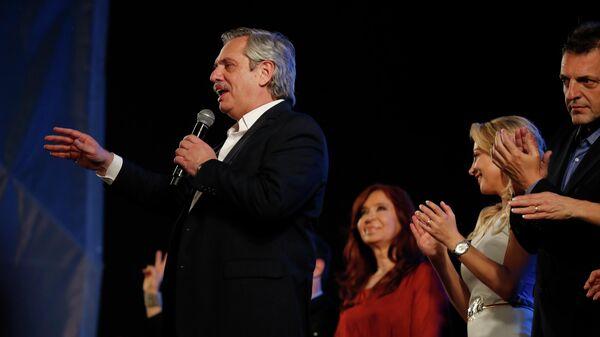 Избранный президент Аргентины Альберто Фернандес