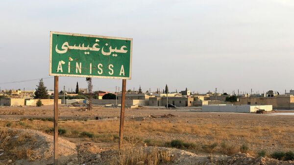 Город Айн-Исса на севере провинции Ракка