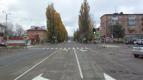 Место ДТП в городе Арсеньев Приморского края, произошедшего по вине 17-летнего водителя