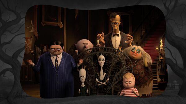Кадр из мультфильма Семейка Аддамс