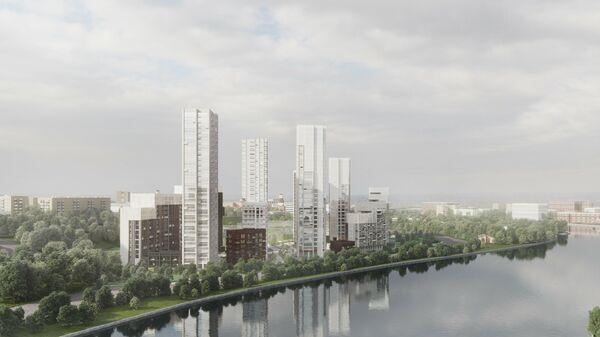 Проект ЖК RiverSky компании Инград в Москве