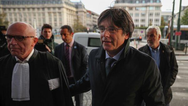 Экс-глава правительства Каталонии Карлес Пучдемон