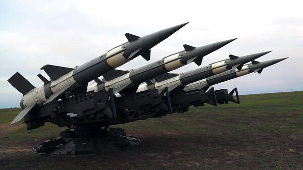 Учения с боевой стрельбой из зенитных ракетных комплексов ВС Украины