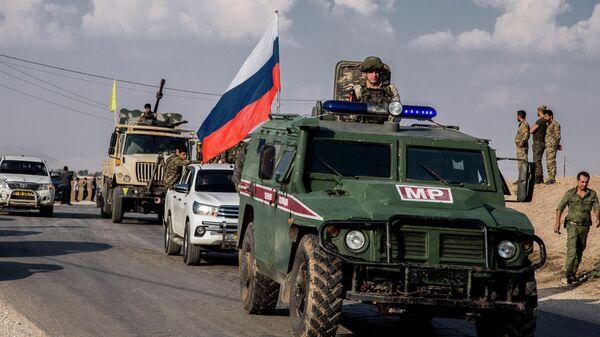 Российская военная полиция на северо-востоке Сирии