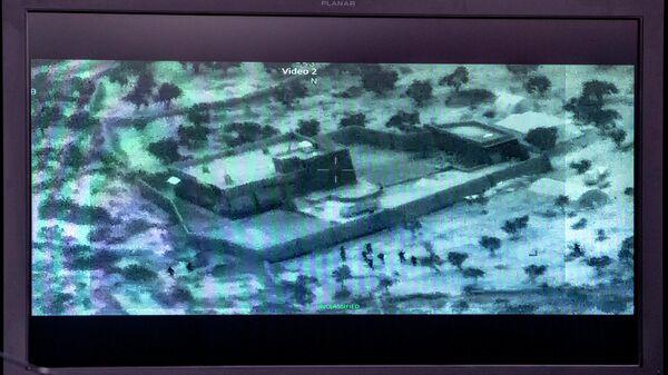 Видеозапись рейда по уничтожению Абу Бакра аль-Багдади