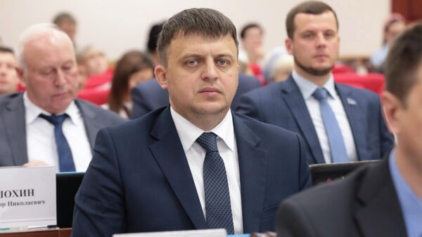 Бывший сенатор от Законодательной думы Хабаровского края Дмитрий Приятнов