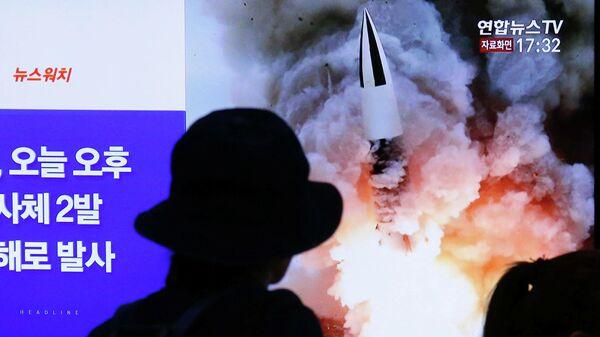 Новый запуск ракет КНДР