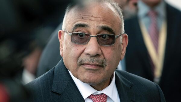 Премьер-министр Ирака Адель Абд аль-Махди