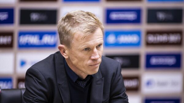 Главный тренер Балтики Евгений Калешин