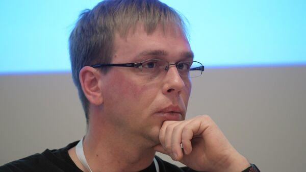 Иван Голунов на конференции ОБСЕ Свобода СМИ и безопасность журналистов в России и в регионе ОБСЕ: вызовы и возможности в эпоху цифровых технологий
