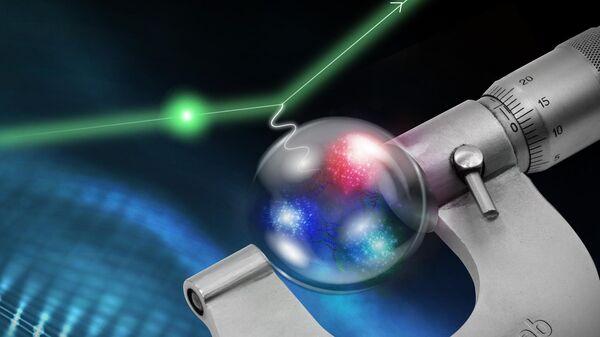 Новое значение радиуса протона получено в эксперименте, проведенном в Национальном ускорительном центре Томаса Джефферсона