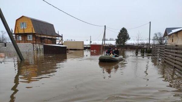 Подтопления в Вологодской области