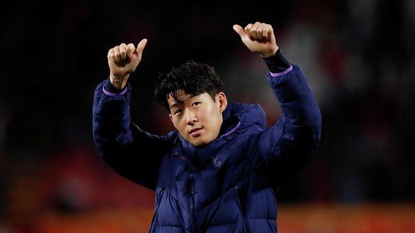 Футболист Тоттенхэма Сон Хын Мин