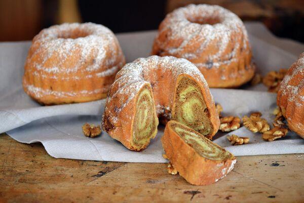Потица – традиционный словенский десерт с грецкими орехами