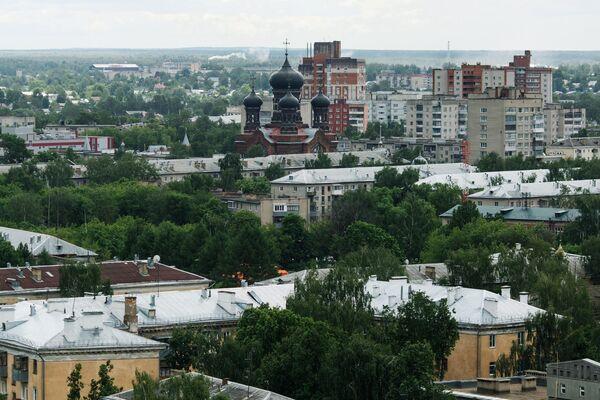 Октябрьский район города Иваново