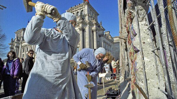 Споры о падении Берлинской стены: 30 лет спустя