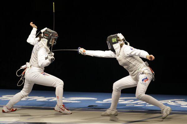 Российские рапиристки завоевали серебро чемпионата мира