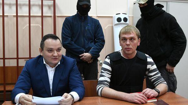 Иван Голунов в Басманном суде Москвы
