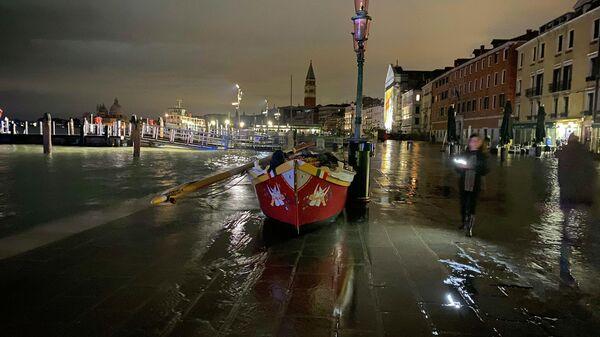 Паводок в Венеции