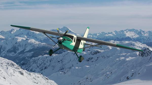 Проект легкого многоцелевого самолета, предназначенного для местных воздушных линий