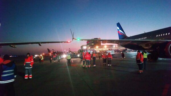 Самолет Airbus A-320 задел другой самолет на рулежной полосе в московском аэропорту Шереметьево