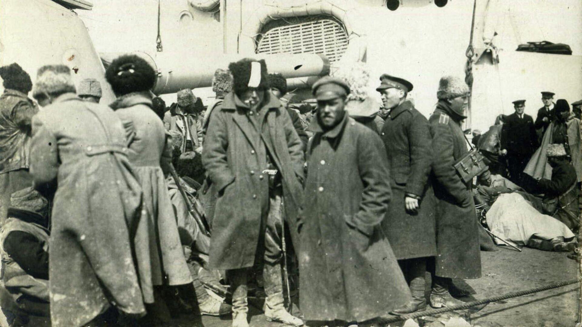 Крымская эвакуация, 1920 год - РИА Новости, 1920, 16.11.2020