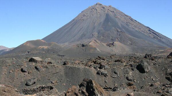 Вулкан Фогу на Кабо-Верде
