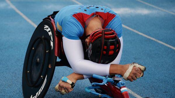 Российский паралимпиец