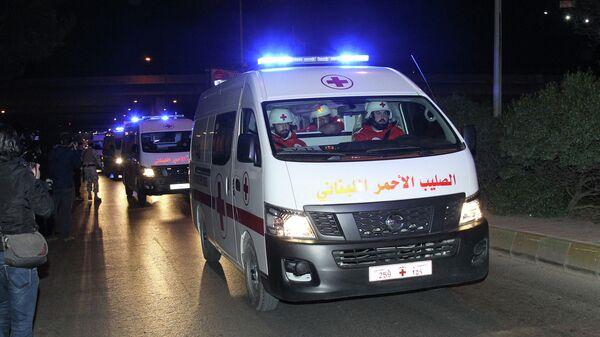 Машина скорой помощи в Ливане