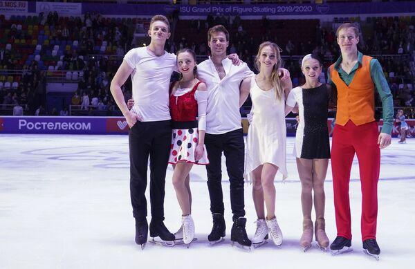 Александра Бойкова и Дмитрий Козловский, Виктория Синицина и Никита Кацалапов, Александра Трусова и Александр Самарин