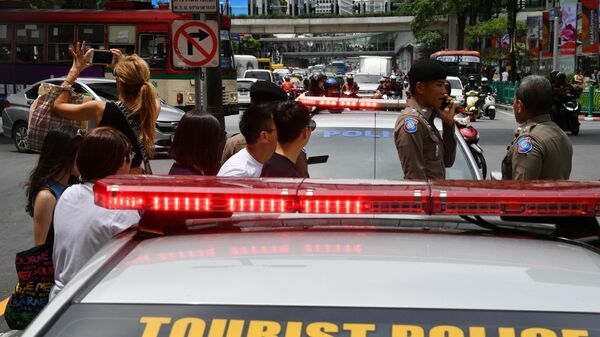 Туристическая полиция в Бангкоке