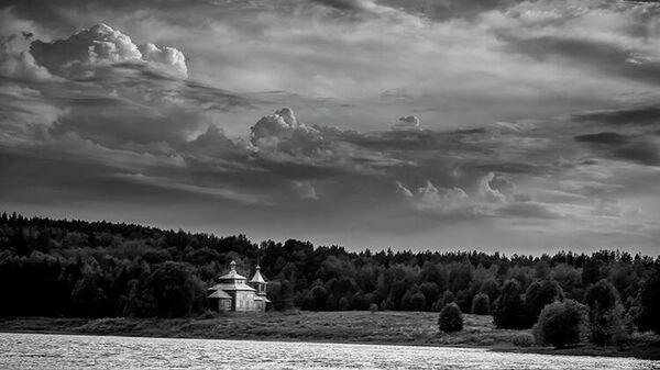 Церковь святого Апостола Андрея Первозванного, конец XIX века,  д. Ведягино, Кенозерский национальный парк