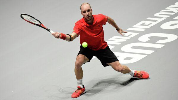 Теннисист сборной Бельгии Стив Дарсис