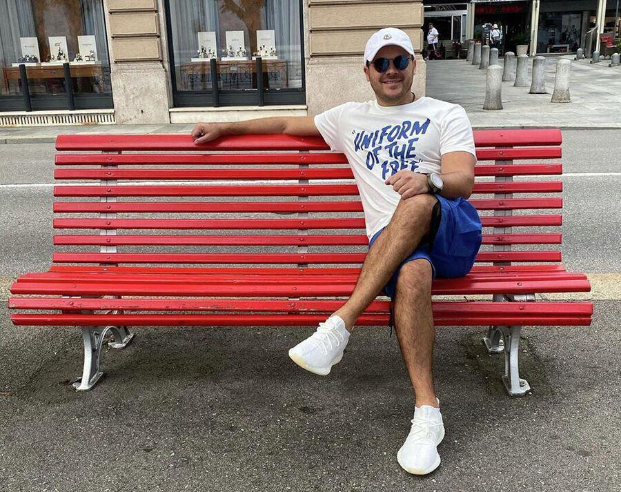 Эмин Агаларов в Швейцарии
