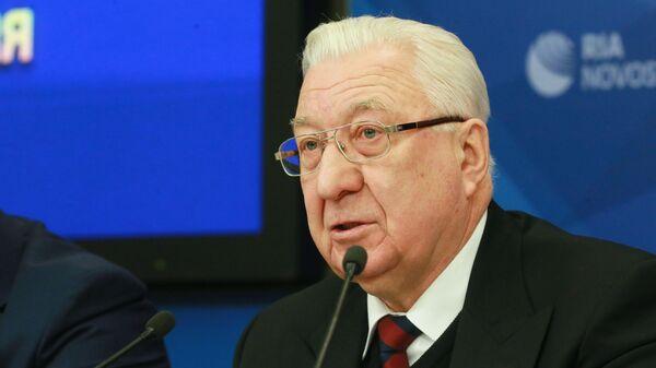 Почетный президент Ассоциации мини-футбола России Семен Андреев