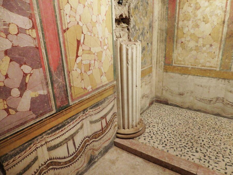 Археологическая зона, мозаика