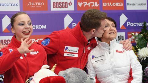 Александра Бойкова, Дмитрий Козловский и Тамара Москвина (справа)