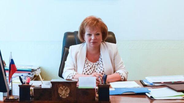 Глава городского округа Чехов Марина Кононова