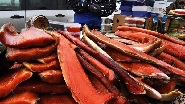 Продажа красной рыбы